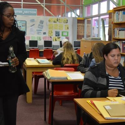 A legal aid clinic at our Law and Human Rights Placement in South Africa